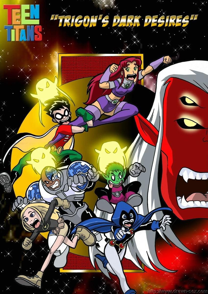 Teen Titans- Trigon\'s Dark Desires