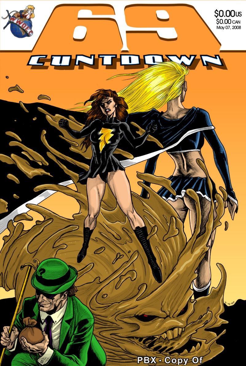 69 Cuntdown Mary Marvel- PBX