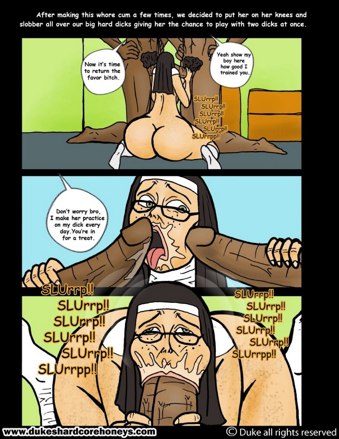 Sister O\'Malley Part 3- Duke Honey