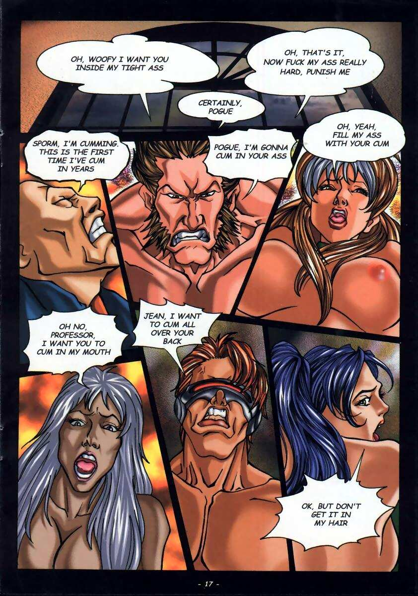 LateX-Men (X-Men) - part 2