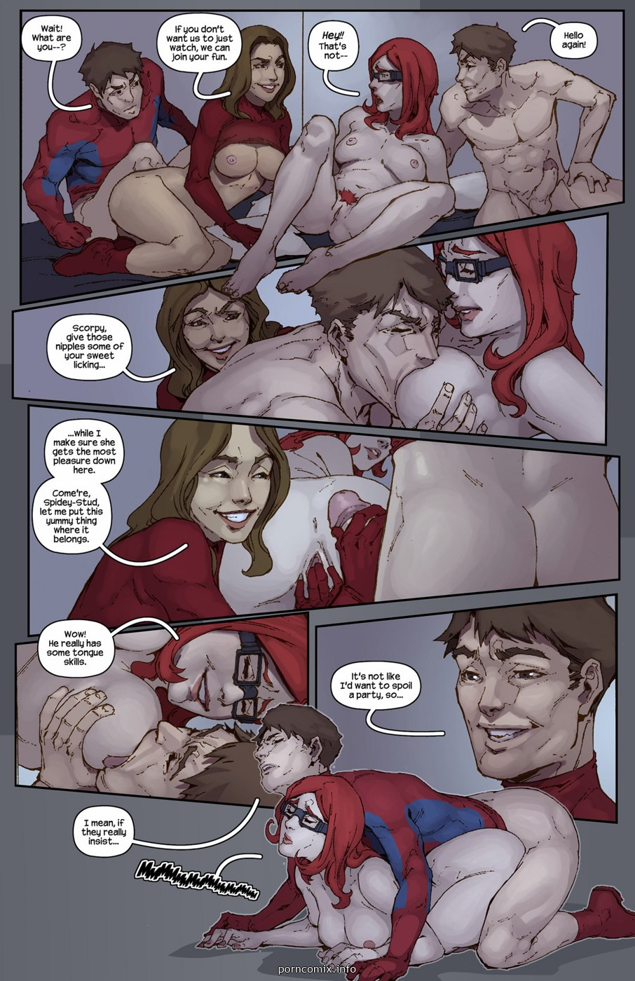Spidercest 10- Spiderman XXX