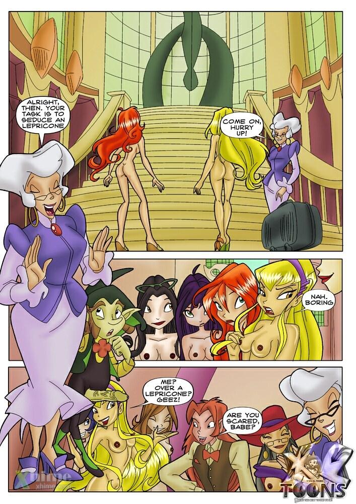 Winx Club - Winx The Castle - part 2
