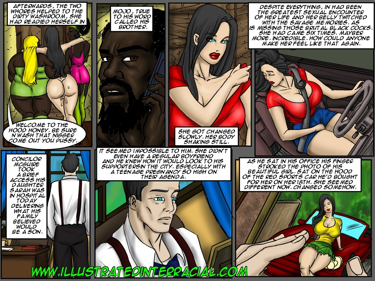 Donna- illustrated interracial - part 3