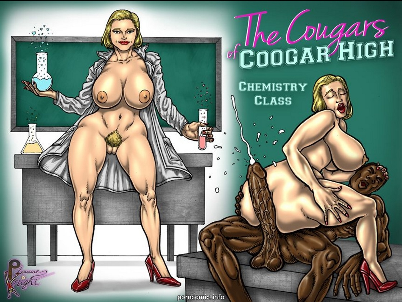 PleasureNight - The Cougars Of Coogar High