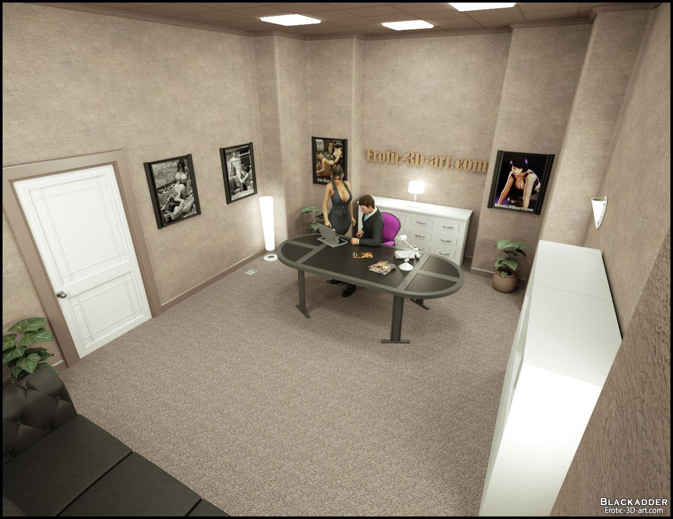 Blackadder- The Office - part 4