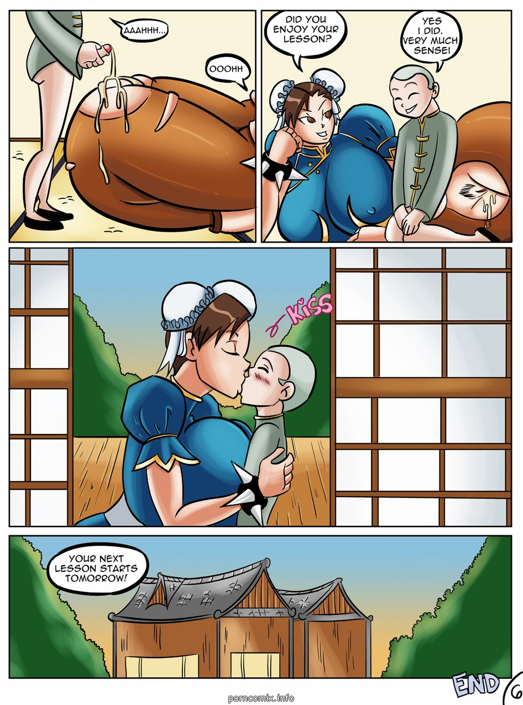 Glassfish- Chun-Li\'s Private Lesson
