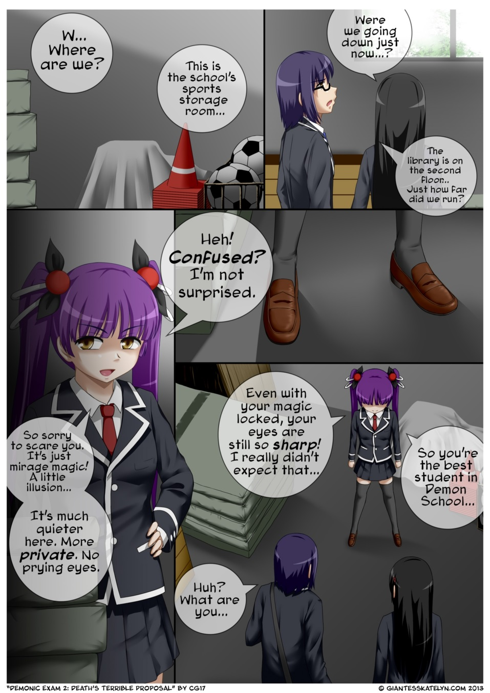 Demonic Exam 2