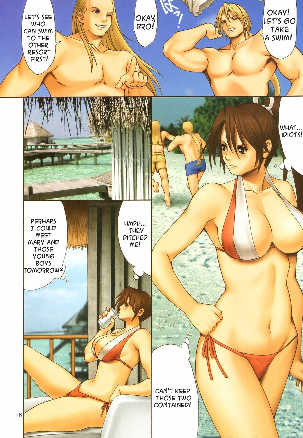 Yuri And Friends Full Color 7