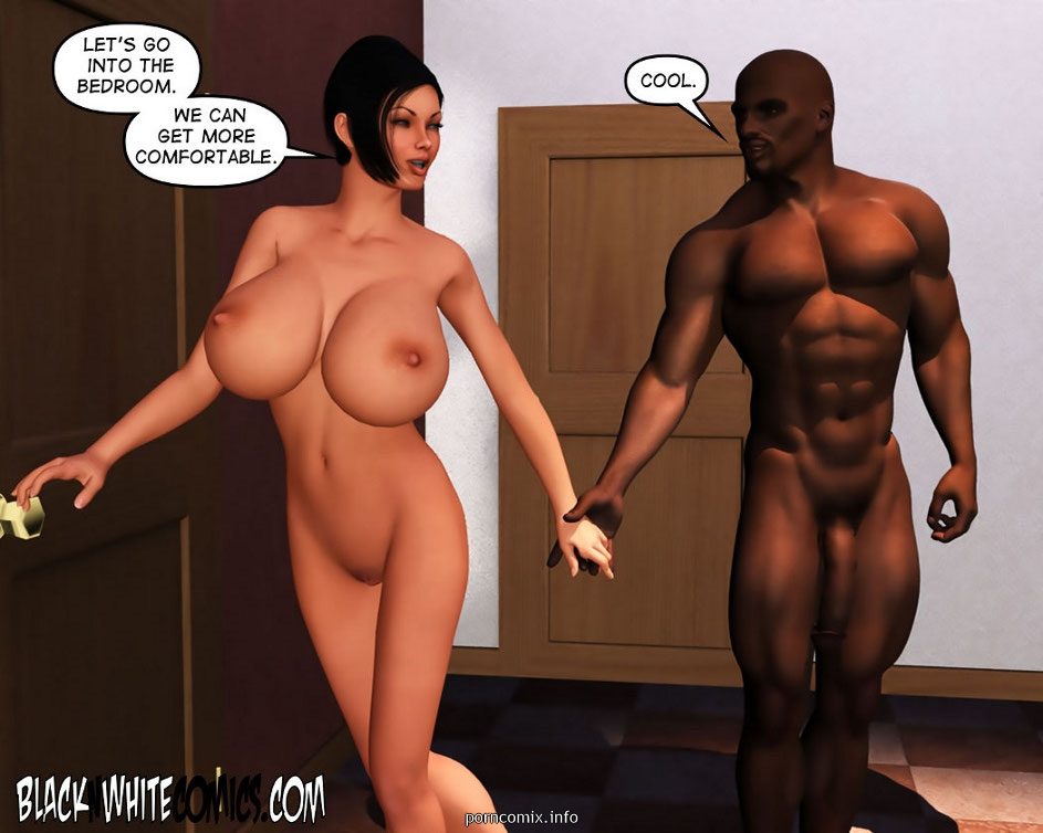 3D Busty Detective- BNW - part 4