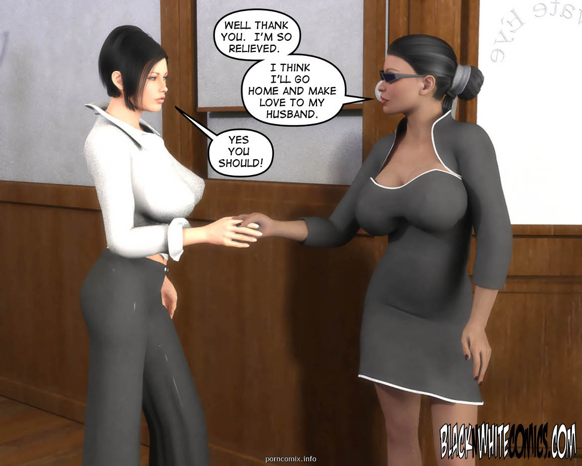 3D Busty Detective- BNW - part 5