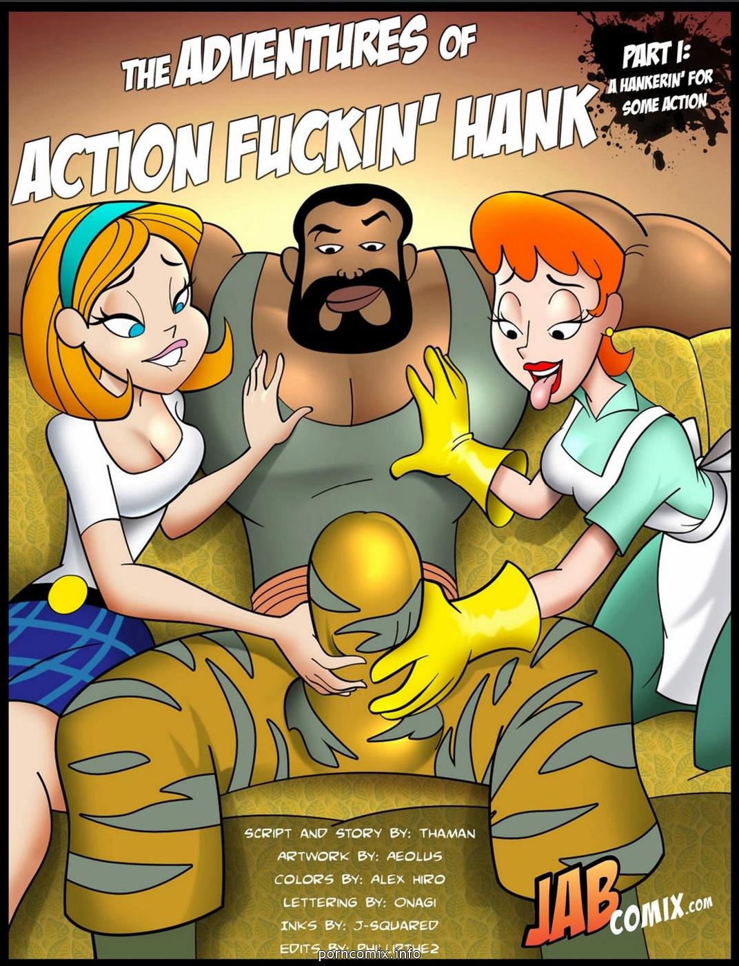 Jab Comix - Adventures of Action Fuckin\' Hank