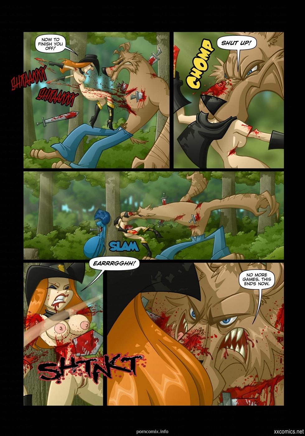 JKR- Hood Halloween - part 2