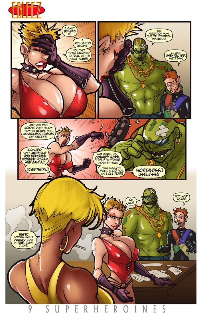 9 Super Heroines - The Magazine 9
