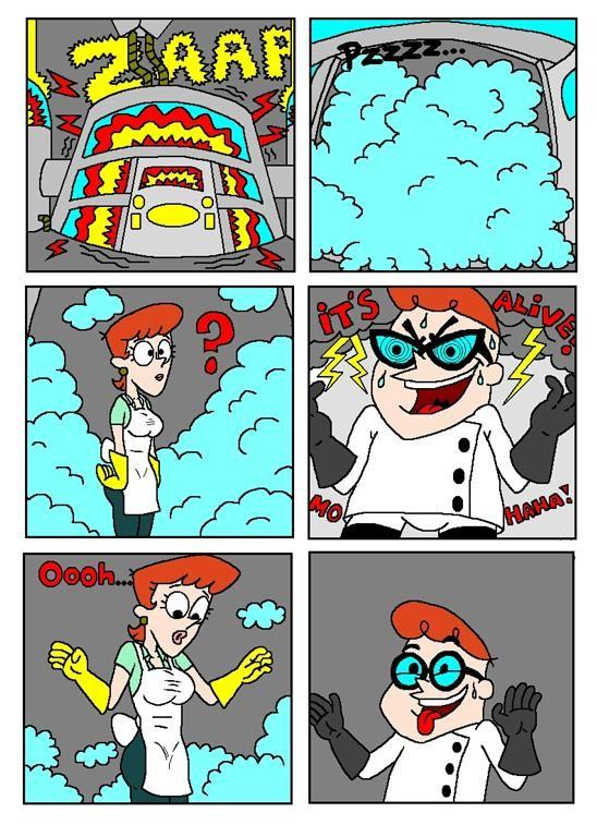 Clonalicious baby - Dexter\'s Laboratory