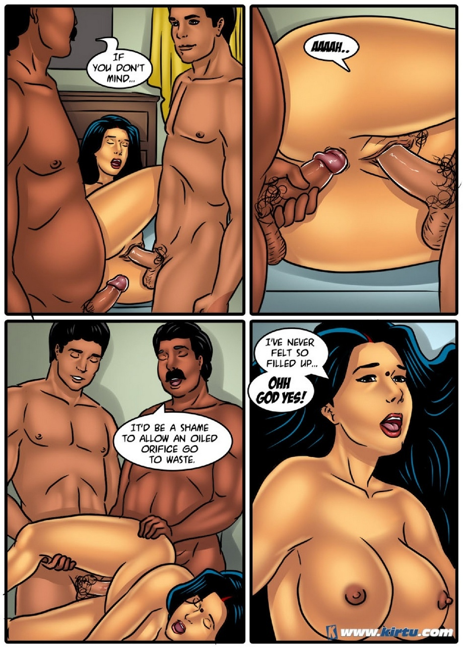 Savita Bhabhi 53 - Couple\'s Massage - part 2