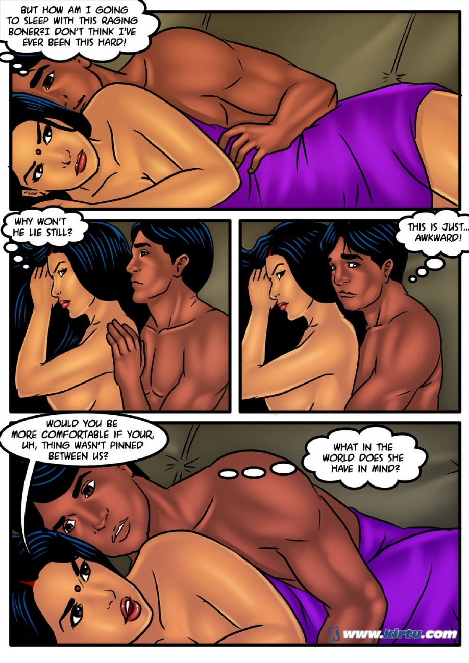Savita Bhabhi 51 - Camping In The Cold - part 2