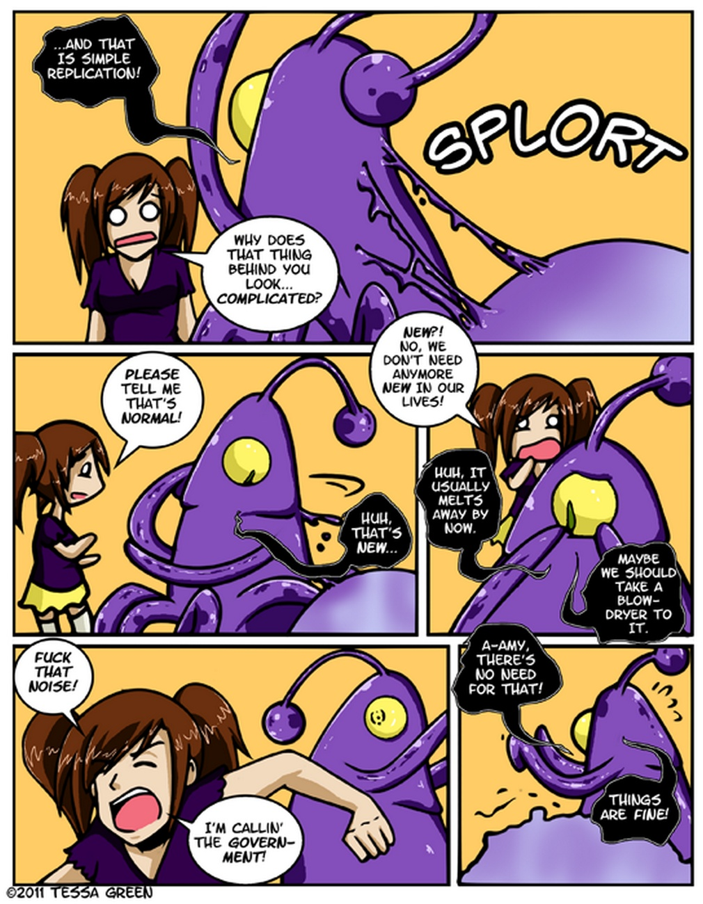 A Date With A Tentacle Monster 4 - Tentach