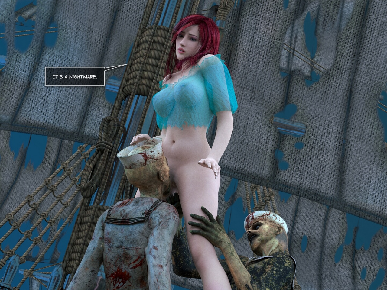 Mad Alyss 4 - Ghost Ship - part 3