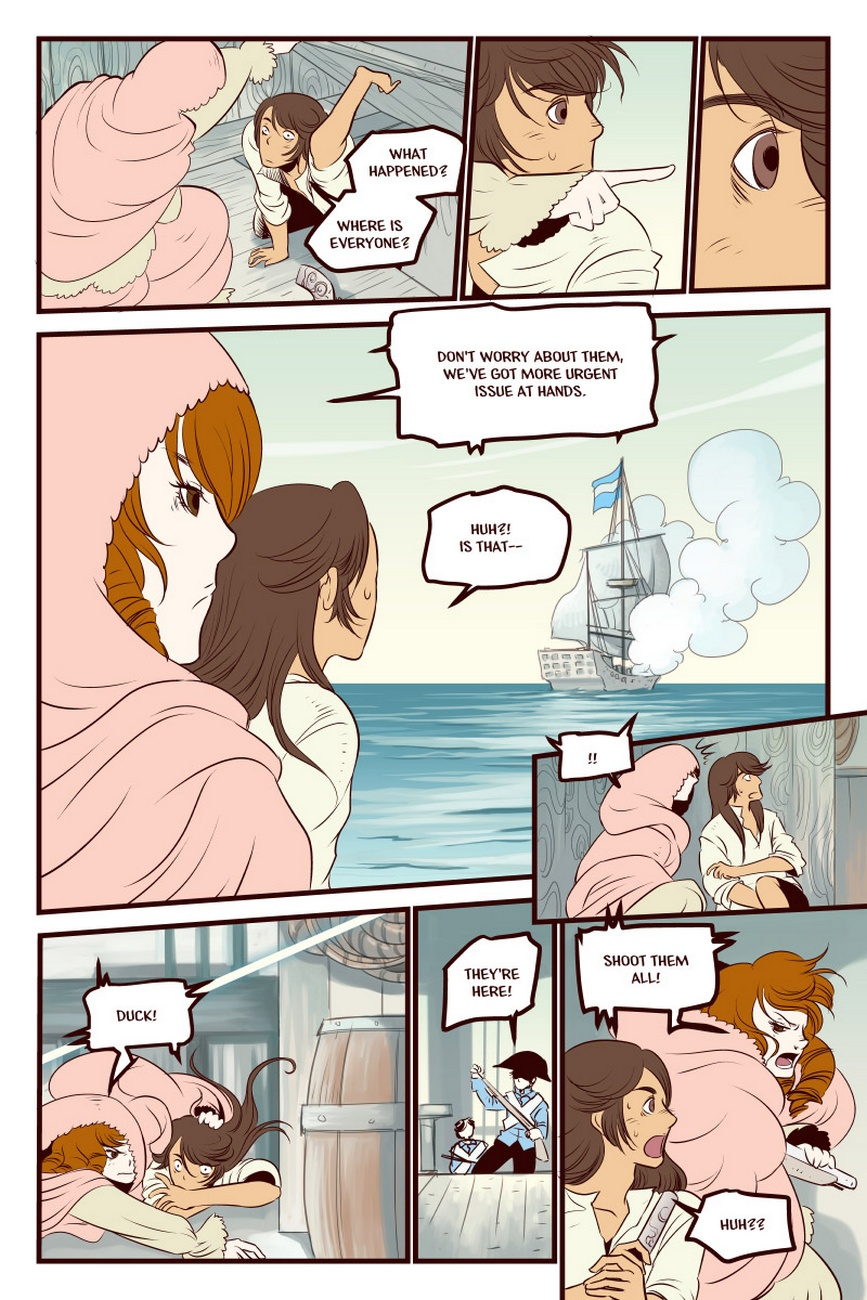 Shiver Me Timbers 4 - The Priest, The Pich
