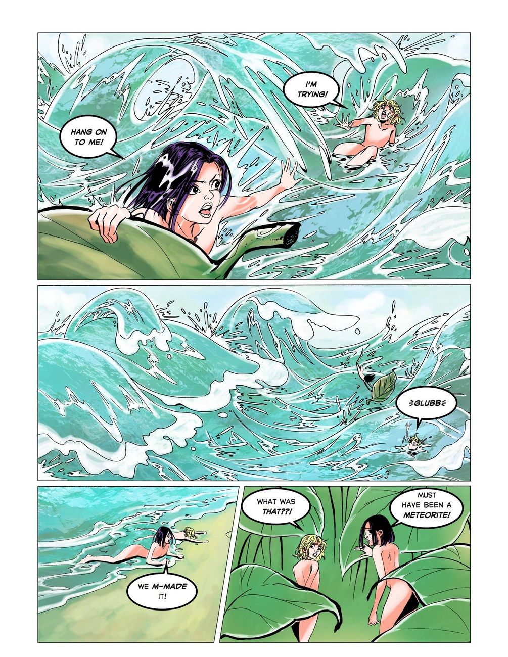 The Big Splash - part 2