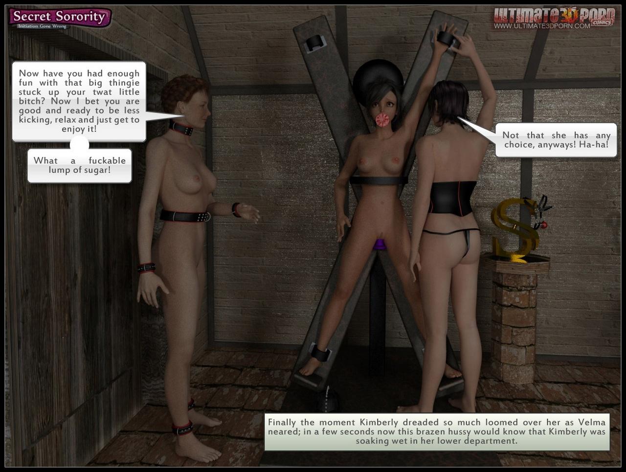 Secret Sorority - Initiation Gone Wrong - part 3