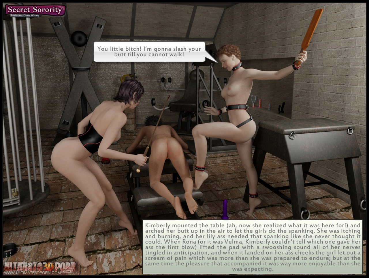 Secret Sorority - Initiation Gone Wrong - part 4