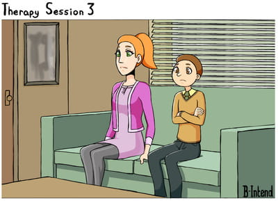 B-Intend Therapy Session 3 Rick and Morty