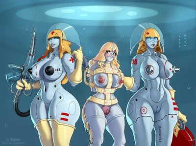 Eleonore Robo Nurses Medical Experiment