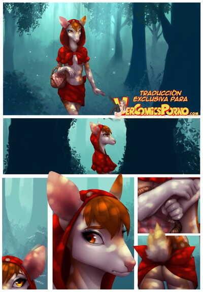 Celeste Little Red Riding Deer Spanish