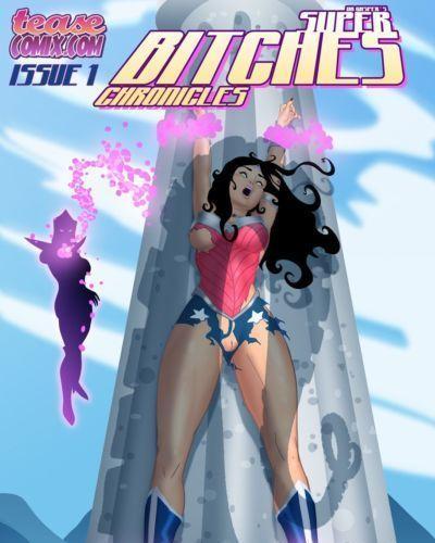 [TeaseComix (Dr Gasper)] Super Bitches (Wonder Woman)