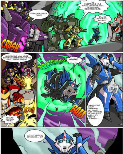 [MAD-Project] Arcee Comic (The Null Zone)
