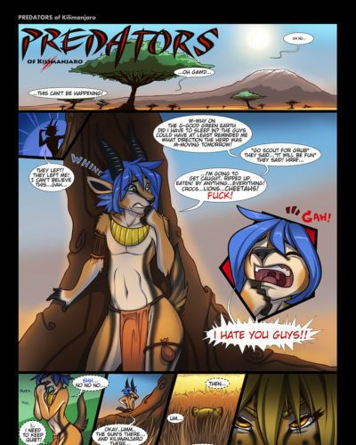 [Fluff-Kevlar] Predators of Kilimanjaro