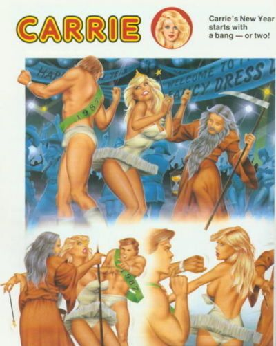 Carrie Carton Girl Strip Complete 1972-1988 - part 17