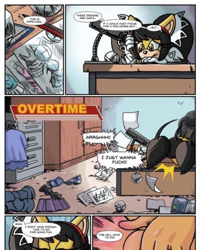 [Omega Zuel] Overtime (Sonic The Hedgehog)