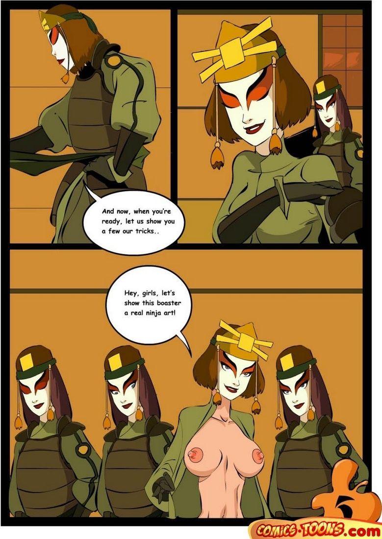 Avatar the last airbender sex comics
